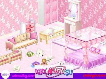 Игры винкс дизайн комнат